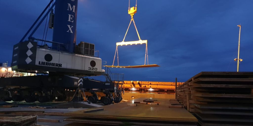 Proiect Umid Babek, Linz, Austria – port Constanta – Baku, Azerbaidjan